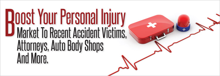 personal injury marketing and chiropractic postcards