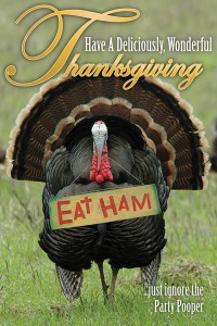 Chiropractic Marketing Thanksgiving postcard
