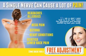 JustUs Chiropractic Marketing Postcards Chiropractor Chiropractors Campaign Program Reactivation postcard Reactivate Campaign headaches neck pain back pain