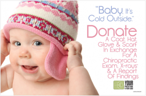 chiropractic marketing referral patients clothing drive