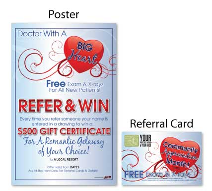 Doctor With A Big Heart Referral Booster Justus Chiropractic Marketing