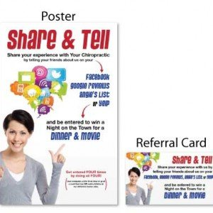 Share & Tell Referral Booster