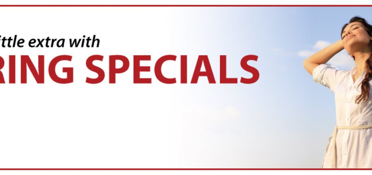 chiropractic marketing ideas, spring special offers