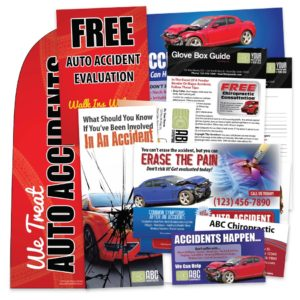 pi marketing, personal injury marketing, auto accident marketing, chiropractic marketing, pi posters, pi brochures, pi business cards, pi postcards, pi sign
