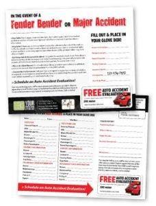 Postcard - Glove Box Guide (Auto Accident Guide)